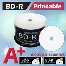 Bluray disc, blank dvd 25gb 50gb, BDR 4X 6X Printable, Blank Blue Ray