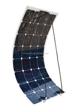 flexible solar panel with sun power cells for rv&yacht made in china