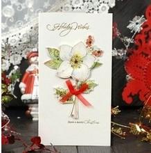 hand craft elegant voice recording wedding card & Free sample 2014 wedding card & wholesale invitation card