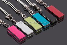 Waterproof USB Flash Drive pendrive 8GB 16GB 32GB 64GB Small Colorful swivel Pen Drive USB Stick pen drive