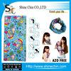 Wholesale seamless tubular dye sublimation printed paisley bandana