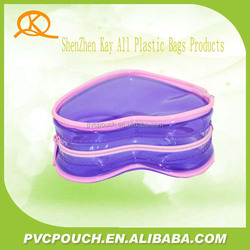 More kinds packing transparent PVC clear cosmetic plastic beauty bag