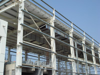 Hot-Rolled Industrial Steel Buildings Fabrication For Portable Warehouses