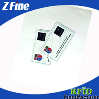 Fudan FM1108 RFID Card/Preprinted Employee ID Cards/Sample Smart ID Cards