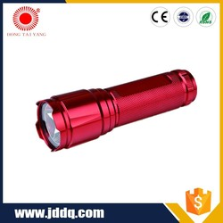 mini colorful high power EDC flashlight use dry battery