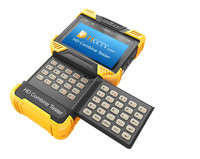 New arrival 4 Inch Onvif IP camera cctv tester with POE cable test .Video record.TDR test