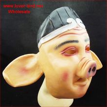 2015 realistic Awesome Mask Full Head Rubber latex Horror Mask for halloween day