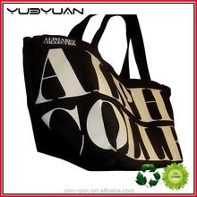 High Quality Black PU Leather Women Handbags New Fashion Classic Letter Bag Female bag
