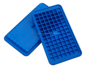 Set Of 2 Casabella Silicone Mini Cube Ice Cube Tray Fancy Freeze Block Mould