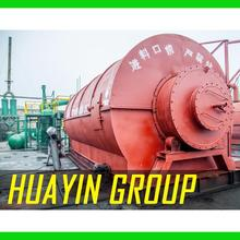 10T Used Waste Recycling Tire Machine To Heavy Fuel Oil Without Emission
