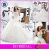 ST06 China Supplier Ball Gown Sweetheart Beaded Real Sample Wedding Dress 2015
