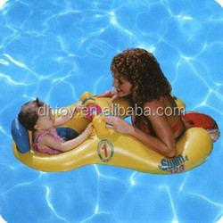 New Toddler Baby Inflatable Float double Seat Boat
