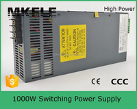 SCN-1000-481000w high power led high voltage high frequency power supply 1000w ac power supply china made with pfc