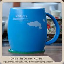alto qulity prezzo di fabbrica tazza fai da te in ceramica regalo per natale