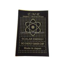 paper anti radiation chip, anti radiation sticker, anti radiation patch
