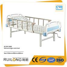 cama de hospital manual sin ruedas