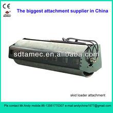 skid steer loader attachment vibratory roller (skid loader attachment,bobcat attachment)