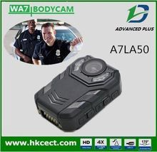 Body wear video camera for police with 64GB big memory waterproof IP68 LED white lights charge dock