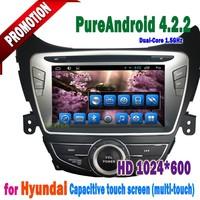 The multimedia Android 4.4 Hyundai AVANTE / I35 elantra Car audio with Radio hyundai car dashboard