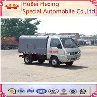 4x2 mini Dongfeng rear loader garbage truck hot sale