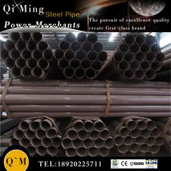 black iron pipe butt welded fittings/wall frame/sch40 black steel pipe