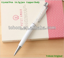 Original Facotry Competitive Price Acrylic Crystal Gift Pen Similar To Swarovski Crystal Pen