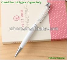 facotry ban đầu giá cả cạnh tranh acrylic pha lê quà tặng bút tương tự như bút pha lê swarovski