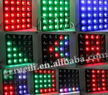 25 eyes 30W RGB 3 in 1 rgb led matrix display dj mixer light