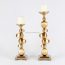 2015 stainless high quality candle holder of home decoration