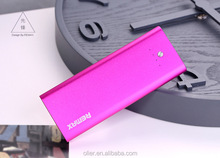 5500mAh Aluminium Alloy Portable Charger/Mobile Phone Charger for All Phone