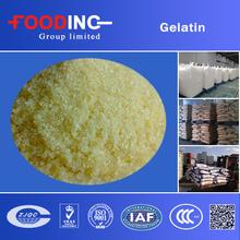 Bulk unflavored halal beef gelatin powder(bovine cow skin/bone gelatin)from gelatin factory