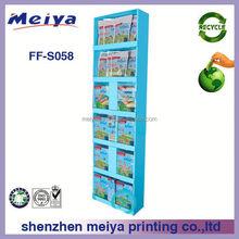Cardboard Advertising Display Stands, Cosmetic Pop up Cardboard Display Stand