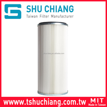 Polyester Dust Collector Air Filter Cartridge Double Open End TSC-C240 l