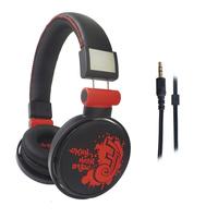 LX-105 Bright Colored Earmuff Round Shaped Headphones