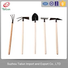 Mini Ergonomic Wooden Hand Gardening Tools Set