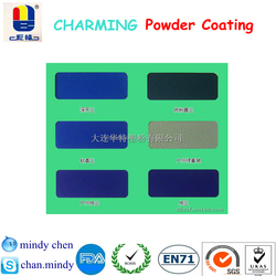 chemical stable toxic free RAL Pantone multi finish texture powder coating