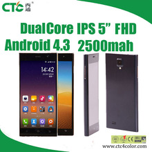 """CTC M3 Smartphone Dual Core Android4.2 IPS 1080P 5"""" android smartphone"""