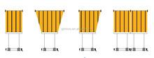 NOVO electric skylight spray tan tent/Motorized Skylight blinds made in Guangzhou NOVO factory