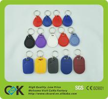 TK4100 plastic key fob RFID key fob from Shenzhen 12-Year Gold Supplier