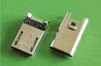 2015 The Newest Micro USB 5P Male SMT PCB Connector