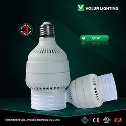 Low cost of e27 e26 led bulb light 50w 220v for street lighting/garden lighting use