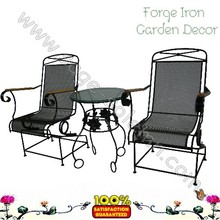 Promotional Garden Wrought Iron Furniture
