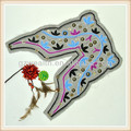 el cuello decorativa con un diseño bordado a mano para prendas de vestir a la venta