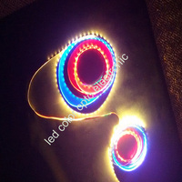 led programmable rgb rope lighting flexible dmx led light outdoor