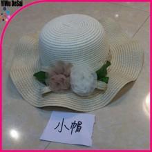 ผู้หญิงในช่วงฤดูร้อนชายหาดหมวกถักสำหรับทารกแรกเกิด