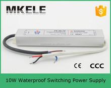 FS-10-12 led strip driver waterproof electronic led driver transformer 10W 12V