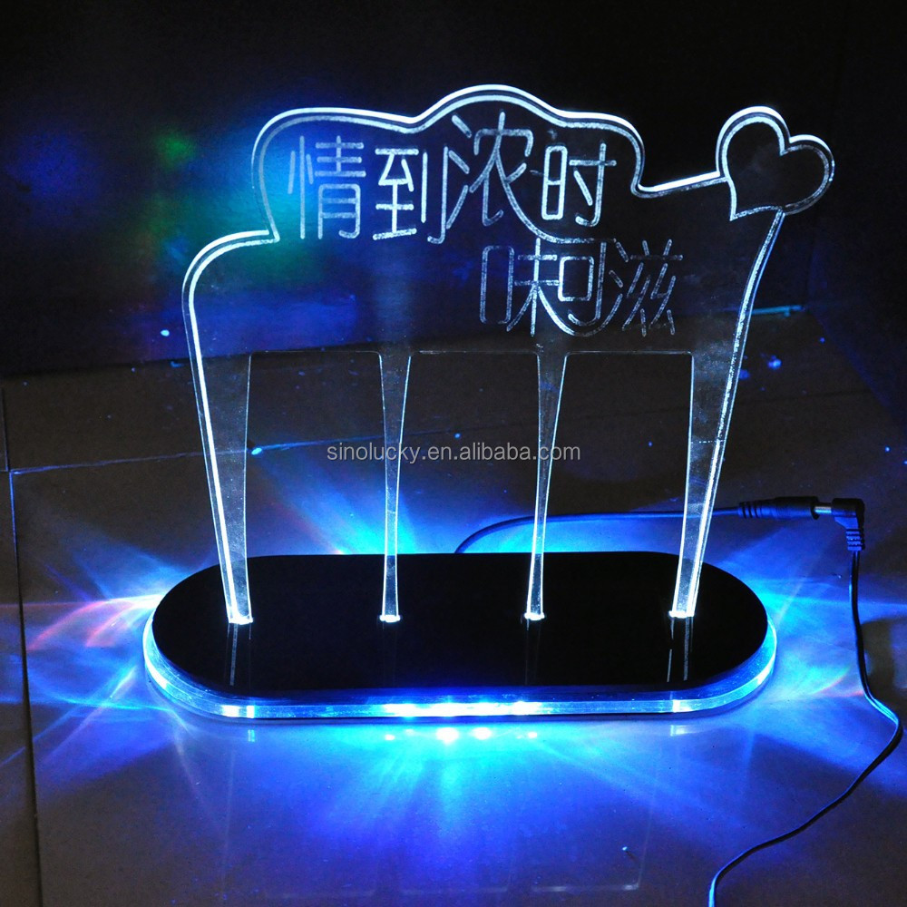 Acrylic Light Box Display : Acrylic light box display stand led