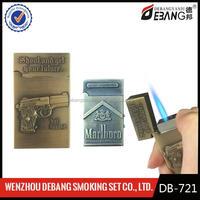 High quality zinc alloy metal jet torch flame jet lighter