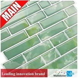 China best selling phone pink vinyl 3d crystal wall skin