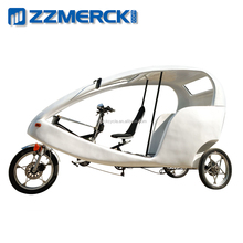 Transport Cycling Three Wheeled Pedicab Tricycle